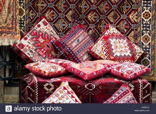 cushions-and-carpets-for-sale-in-a-souvenir-store-baku-azerbaijan-HDRP70