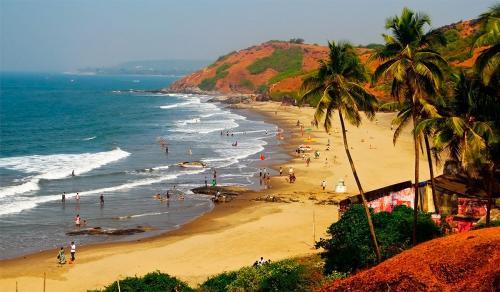 beach siolim-goa