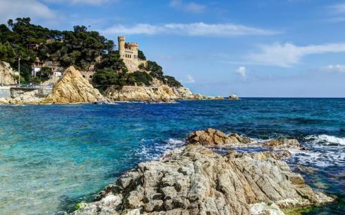 Costa-Brava-Spain-Sea-coast-sea-bay-rock-HD-Wallpaper-1680x1050