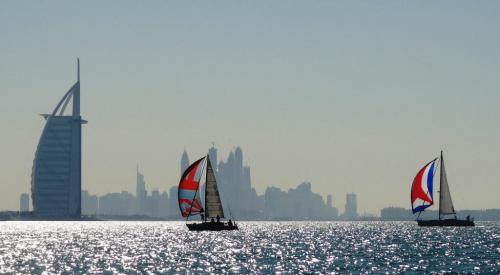 Burj sailboats1