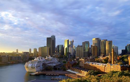 Australia Houses Marinas Ships Cruise liner Sydney 525100 1280x808
