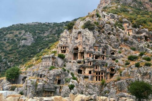 drevnie likiyskie grobnicy 1